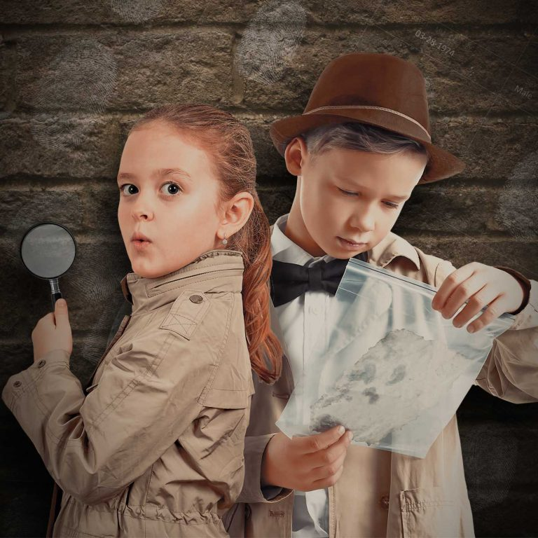 Nytt barnkalastema: Detektivkalas!