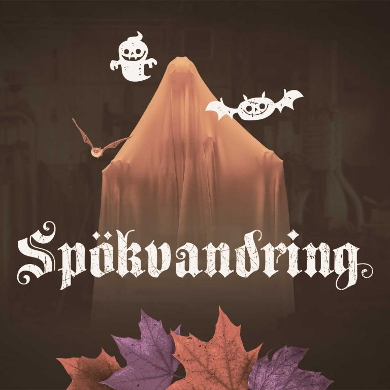 Spökvandring i Smedjan