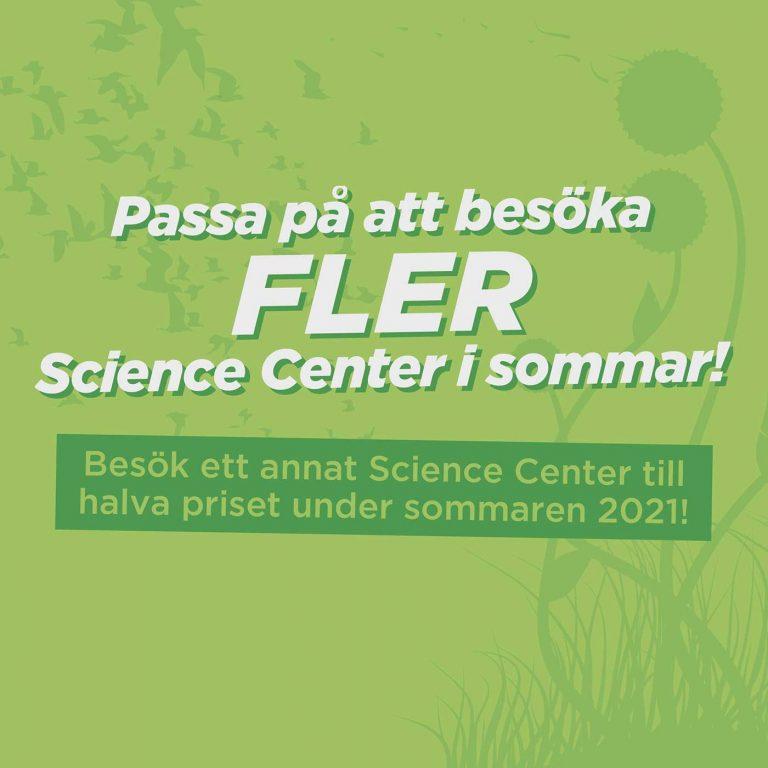 Besök FLER Science Center i sommar!