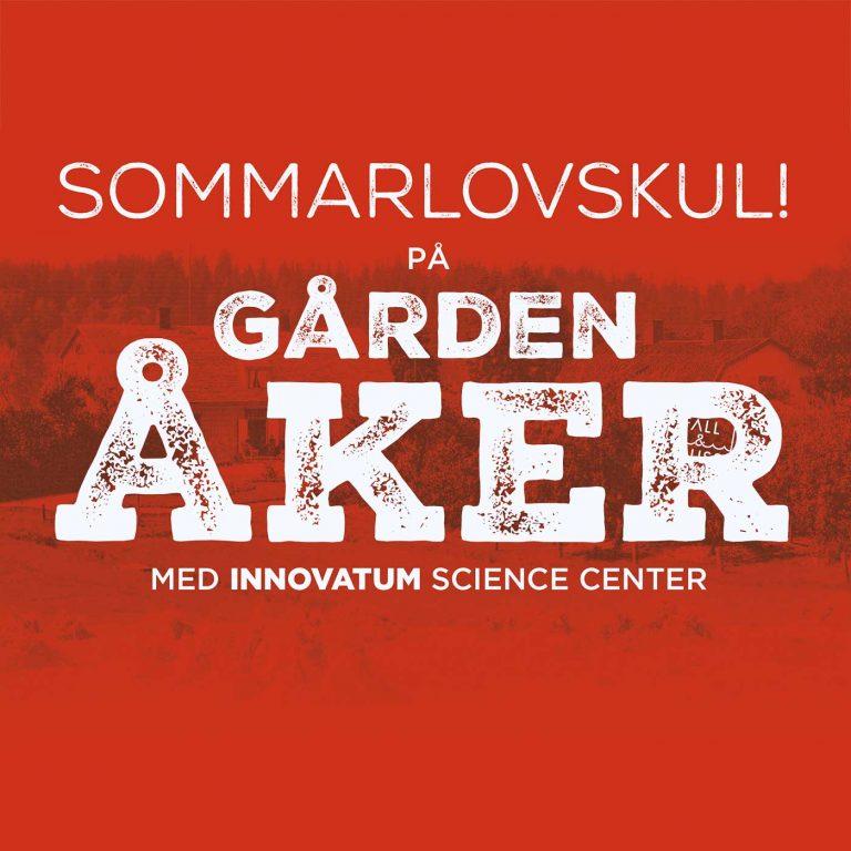 Sommarlovskul på Gården Åker!
